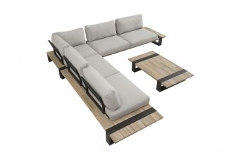 4SO Duke Loungeset 8 personen