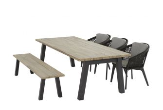 4SO Belize Tuinset 6 personen 240x100cm
