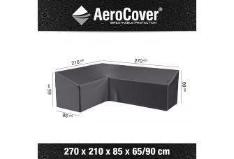 Aerocover Loungesets L-vorm - hoge rug